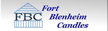 Fort Blenheim Candles